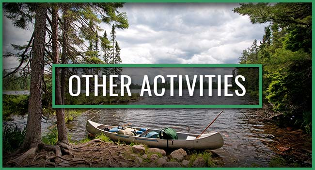 Snowbank Lodge and Outfitters Activities